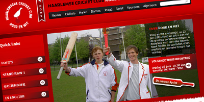 Cricketclub Rood en Wit